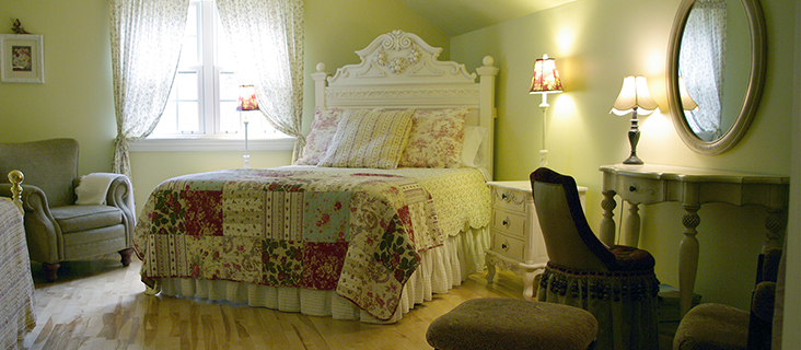 Cottage Suite at Blue Forest Lane Bed and Breakfast in Halifax Nova Scotia